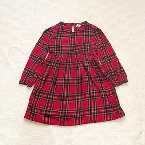 Old Navy plaid flannel dress 2T